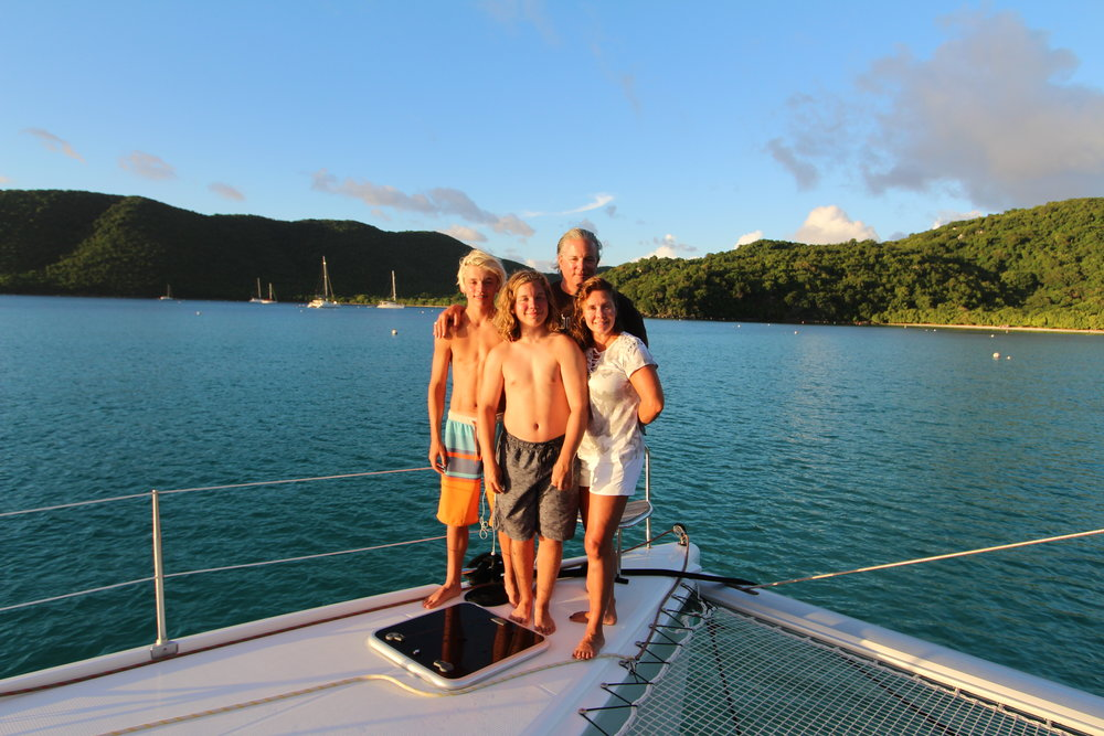 The McCord Family St. John, USVI, July 2017