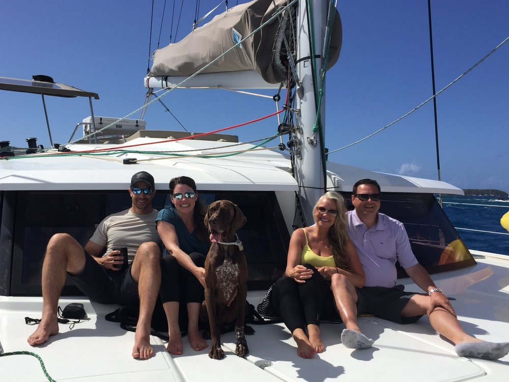 walton/Moneim Charter BVI & USVI, April 2018