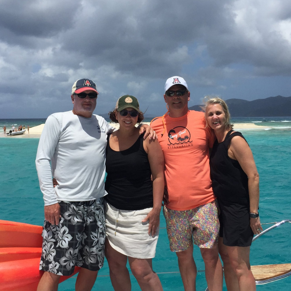 McGarey/Christy Charter British virgin islands, May 2018
