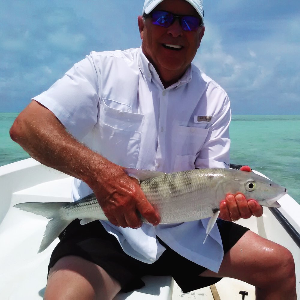 Rick Gornto BONEFISHING IN ANEGADA, JUNE 2018