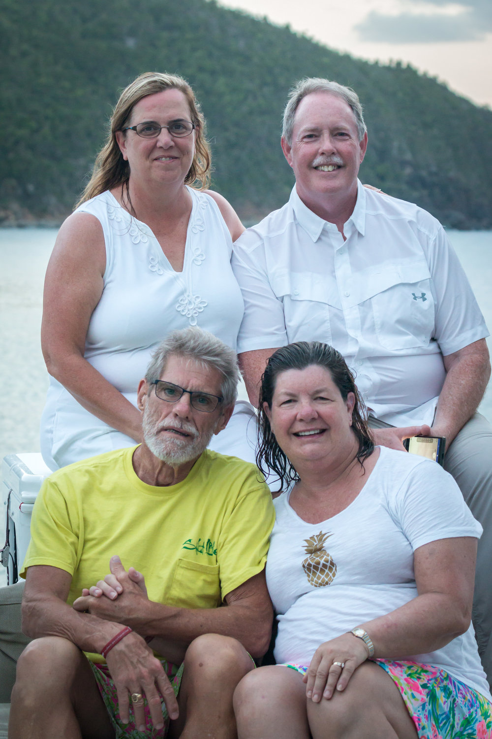 Patterson/Browne charter Francis Bay, St. John, july 2018