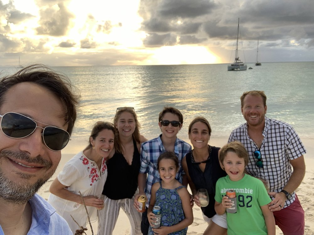 Neuhauser family charter british virgin islands, january 2019