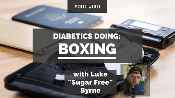 Diabetics Doing Boxing Luke Byrne