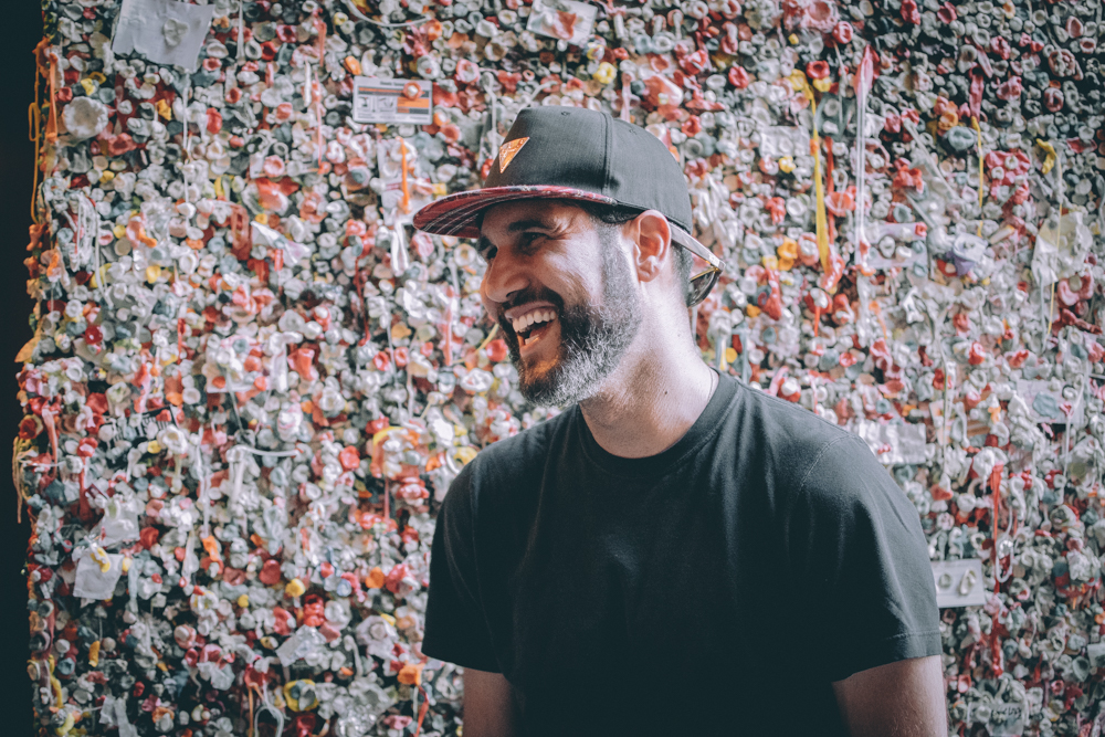 in my element.... gum wall, seattle wa
