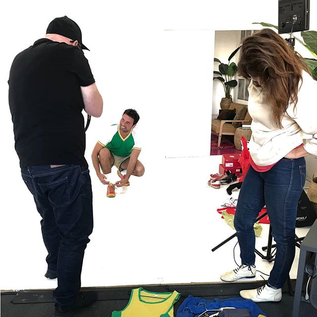 • H I G H W A Y H Q • Who wore it better?👟👕👖🎒👔 #wardrobe#directorlife @nickrobertson ✨ #actorlife #production #studio #tvcs #commercials #thethingswedoforlove #worklife #casting #performance #advertising #highwaycasting