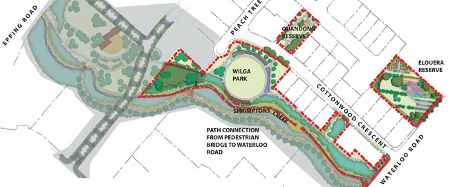 Shrimptons Creek Precinct Activation Project
