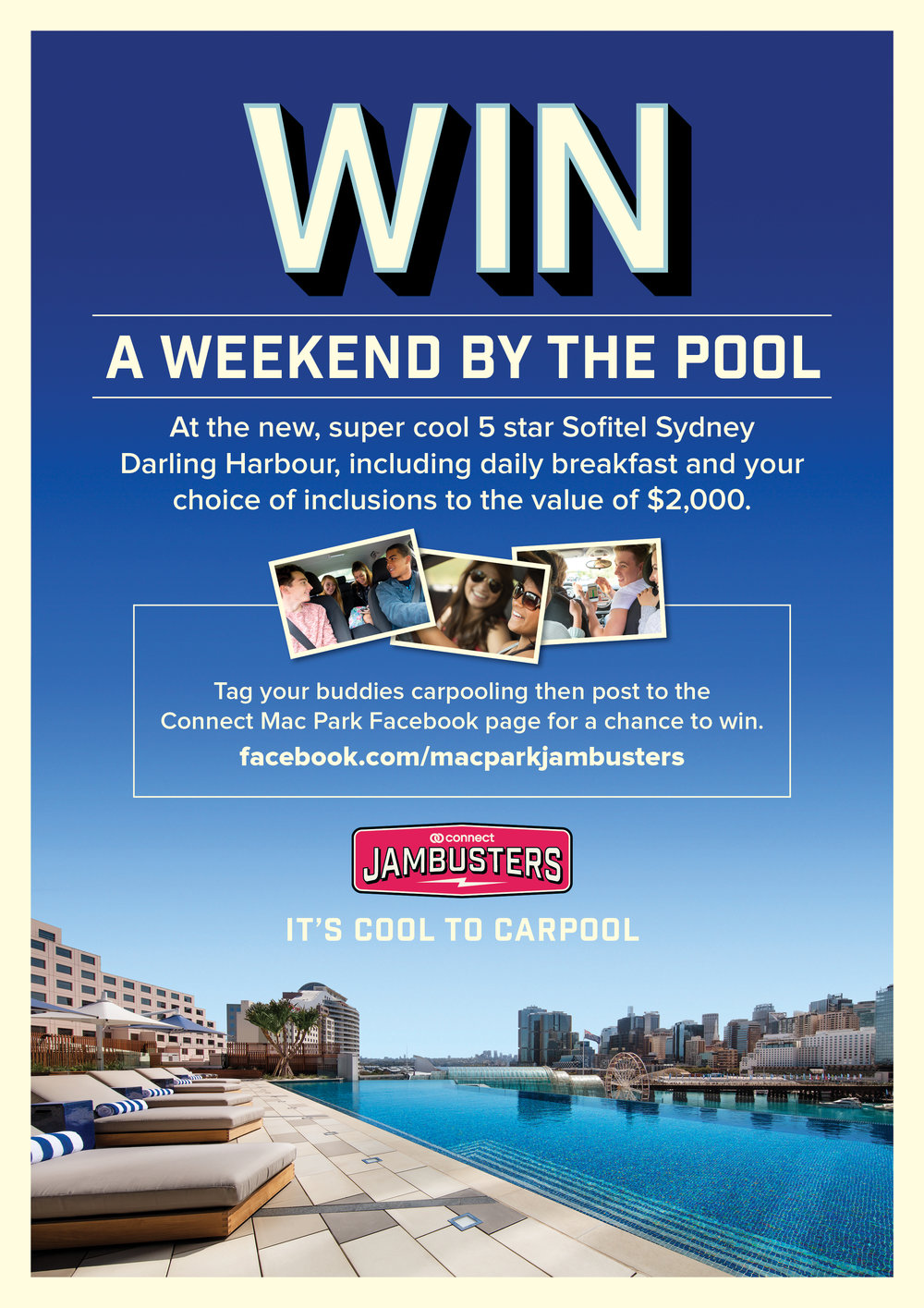 A4 Promo poster - pool -
