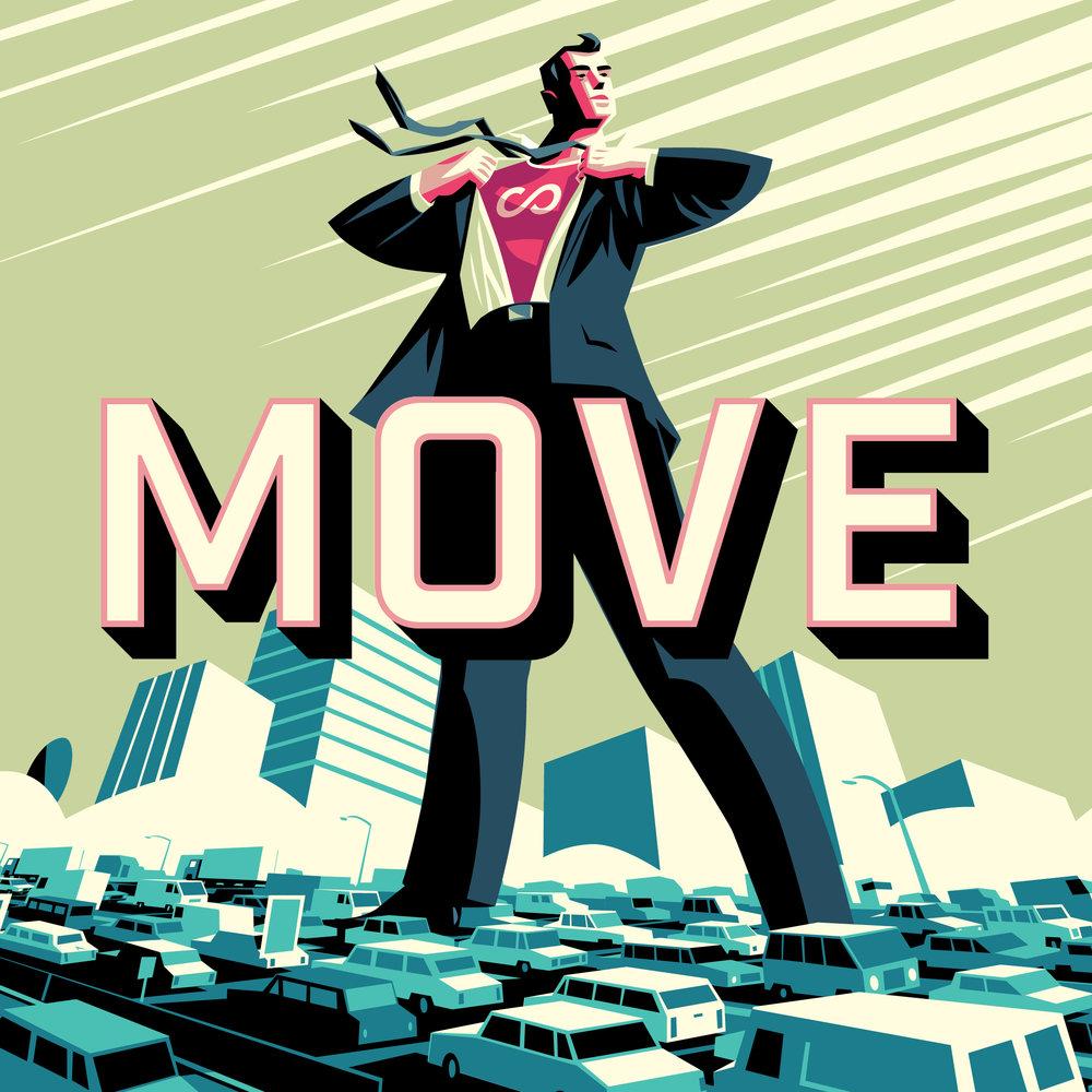 Web Tile - Hero guy 'Move' -