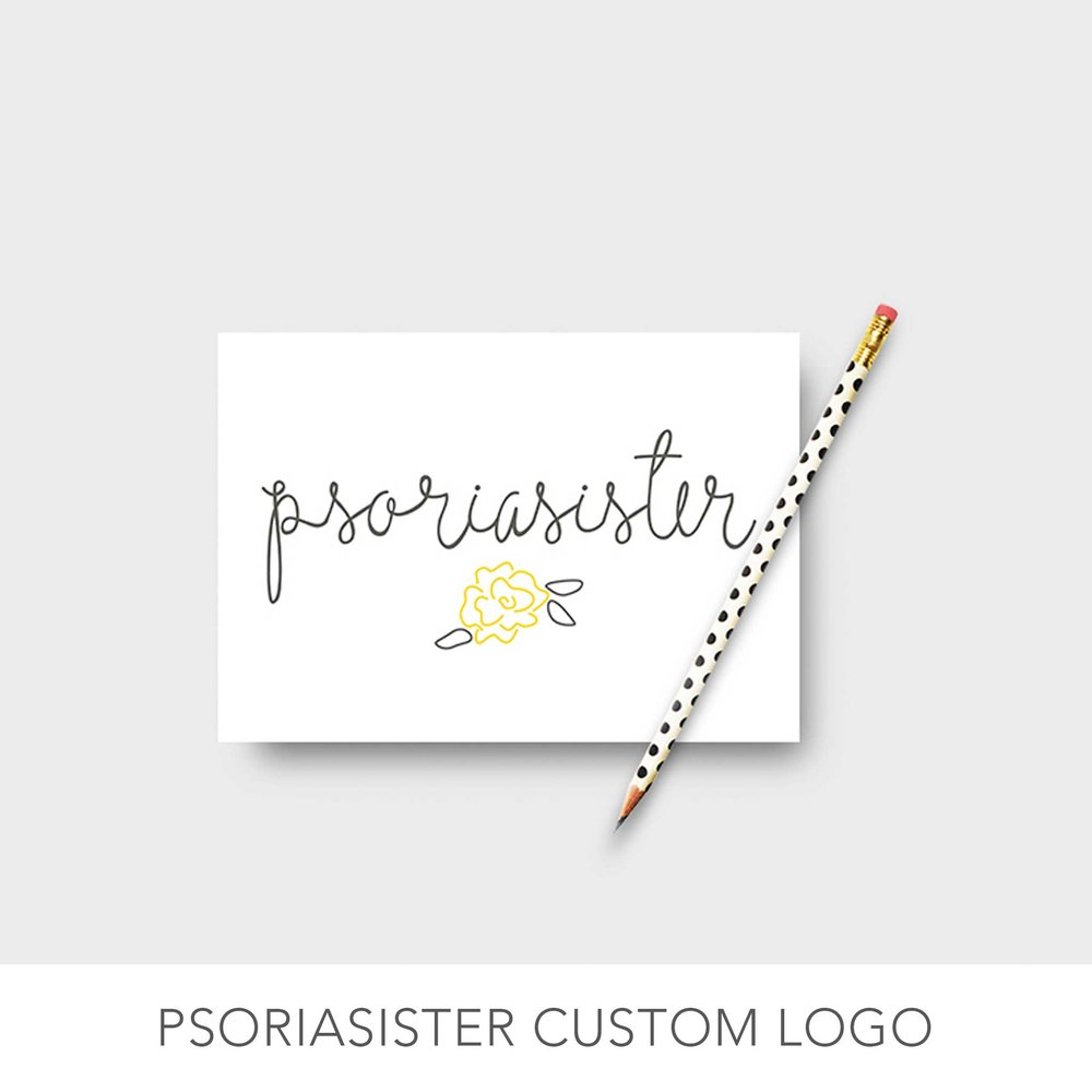 Psoriasister Logo Design