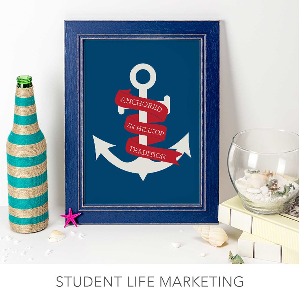 st. edward's university student life marketing design