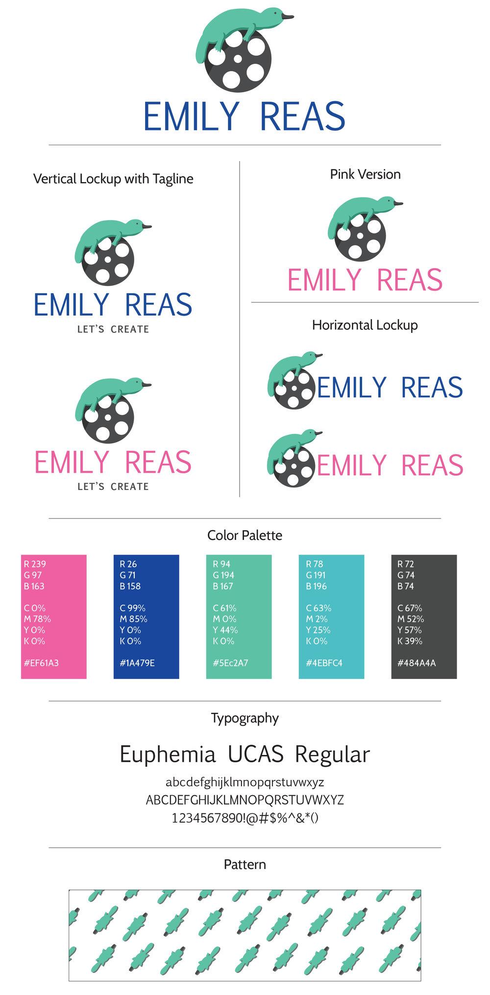 Emily Reas Brand Board