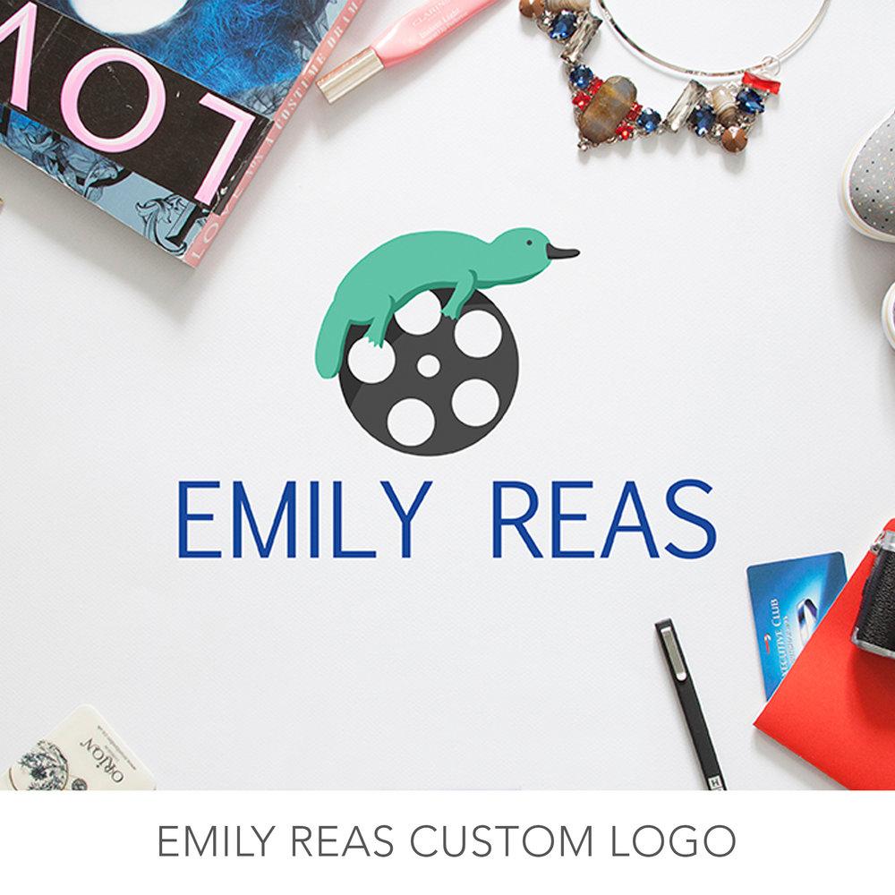 Emily Reas Logo Work