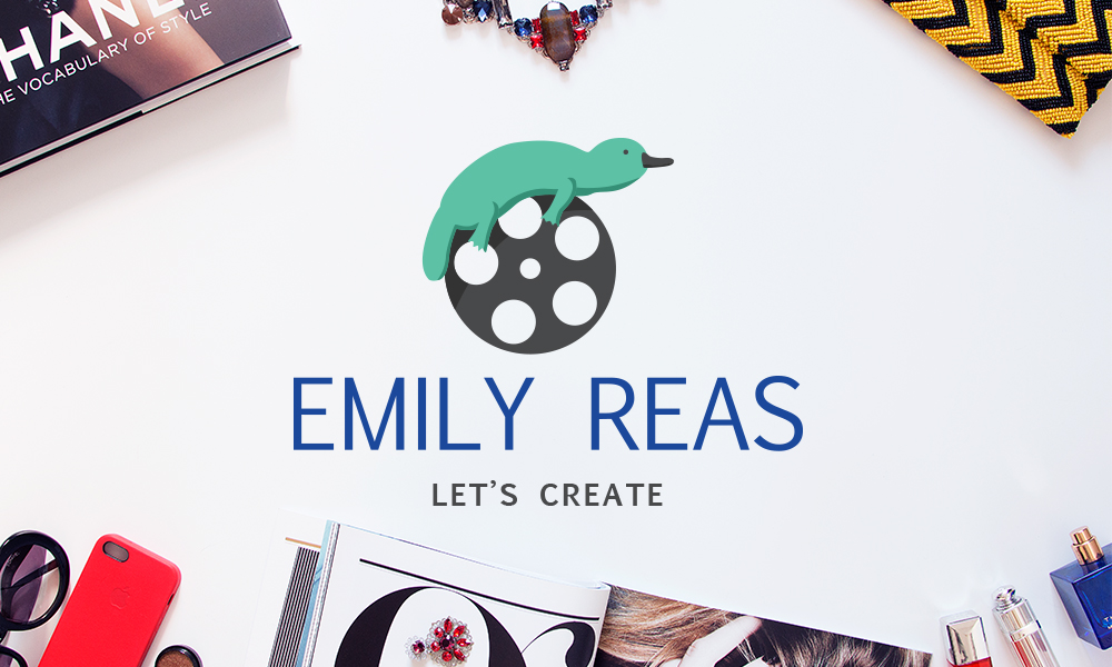 Emily Reas logo and tagline