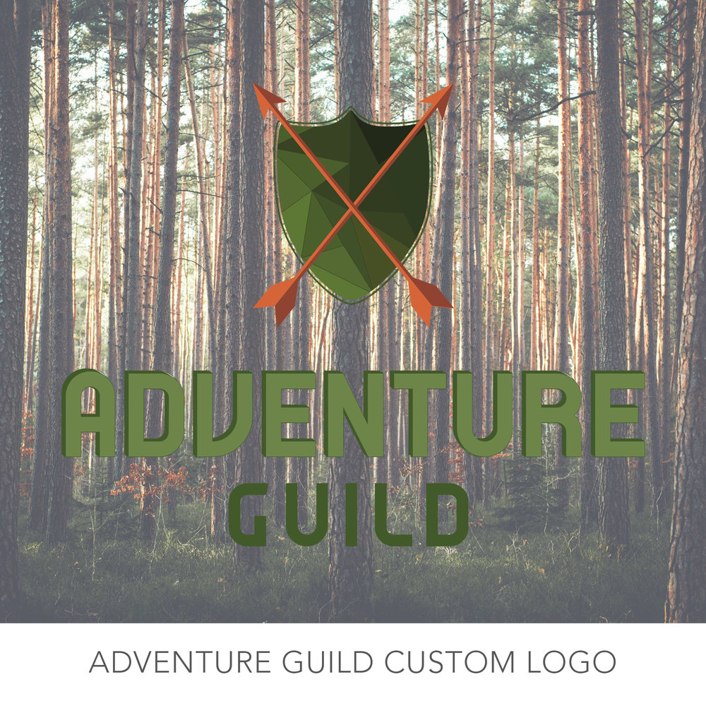 Adventure Guild Logo Design
