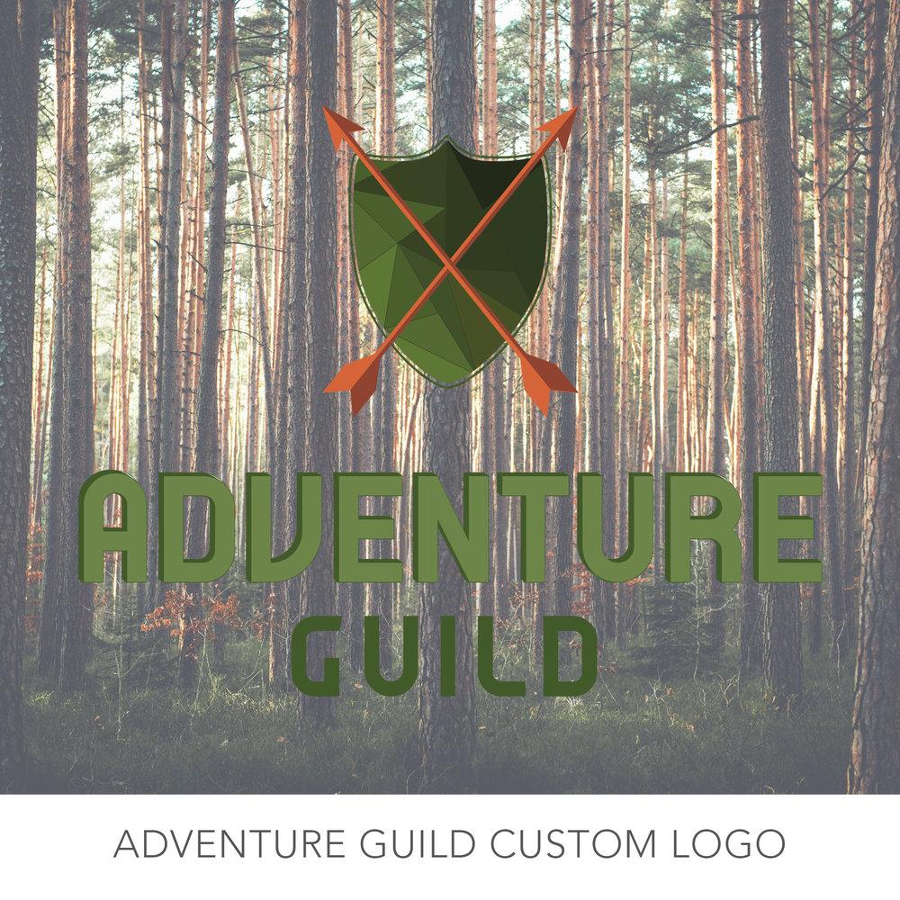 Adventure Guild Logo Design