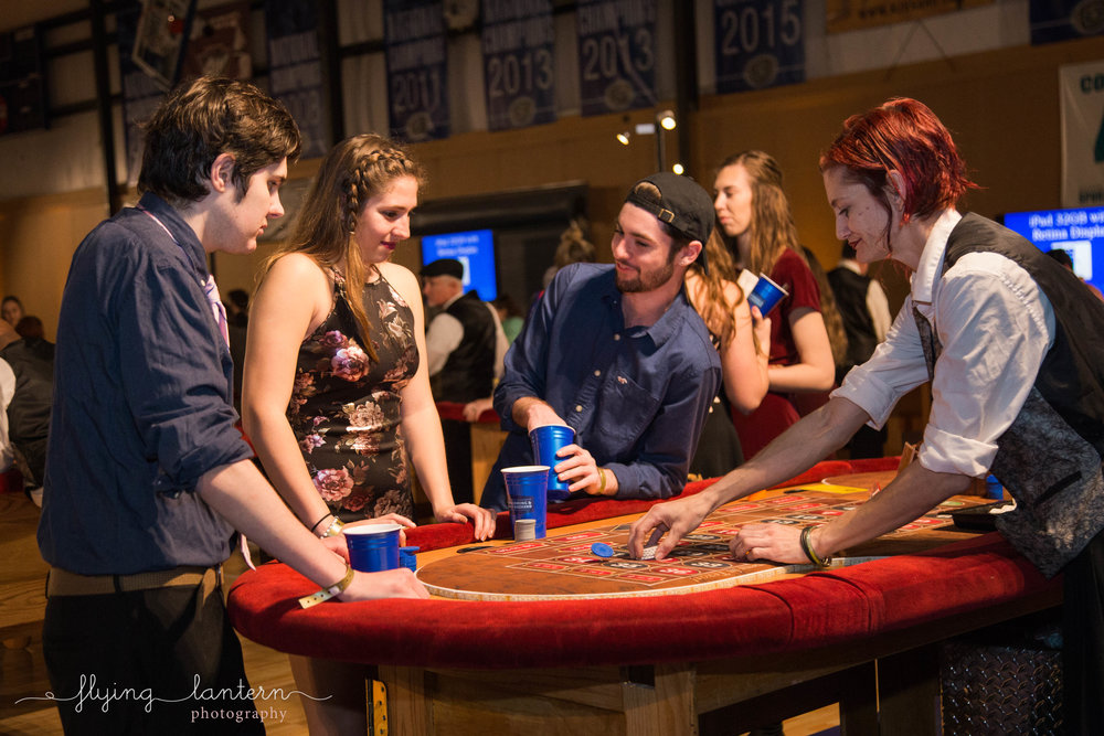 st. edward's university casino night at austin sports center in austin texas by erin reas of flying lantern photography