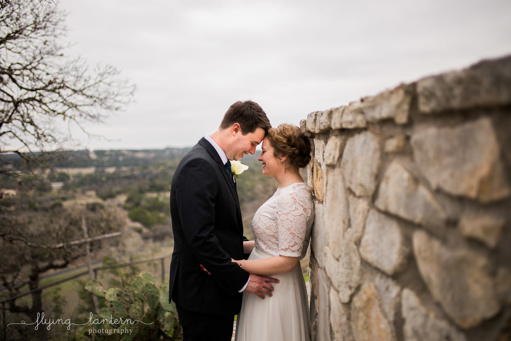 bride and groom wedding at ranch house wedding in austin texas by erin reas of flying lantern photography