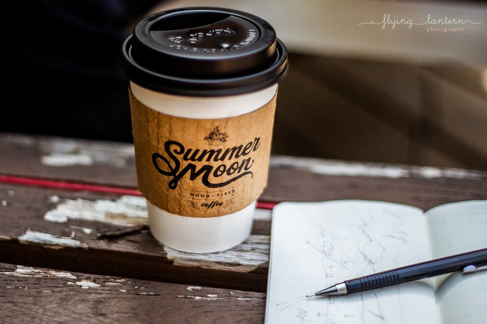 lifestyle branding photo product summermoon coffee shop in austin, texas by erin reas of flying lantern photography