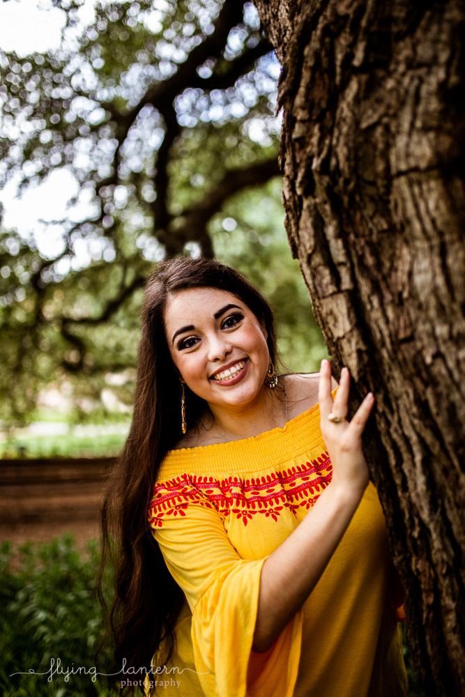 Senior Portrait in Austin, TX photo by Erin Reas of Flying Lantern Photography