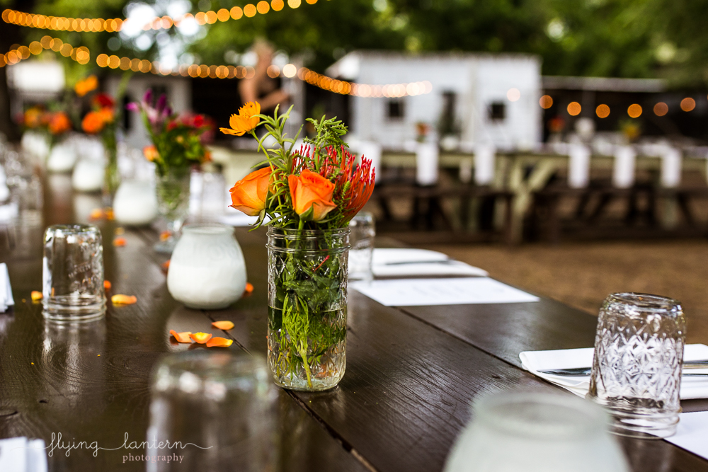 Event for Wander/gather at eden east dinner party. Floral and table set up. wildflower bouquet. Photography by Erin Reas of Flying Lantern Photography