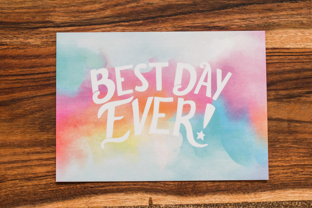 Best Day ever spring 2018 logo for wildflowers clothing