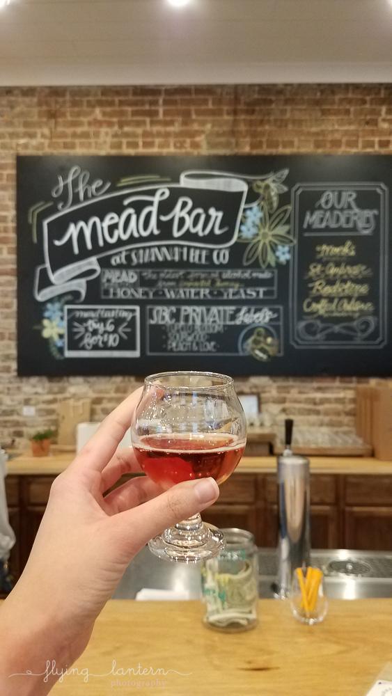 Savannah Bee Company Meed Tasting in Charleston, South Carolina
