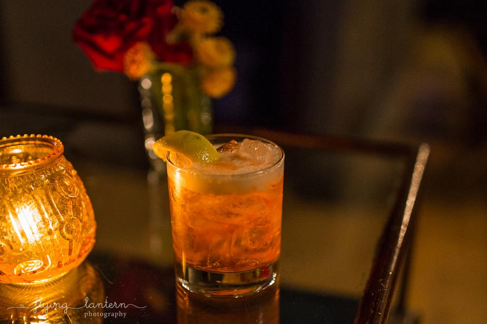 Cocktail drink at Native Hostel