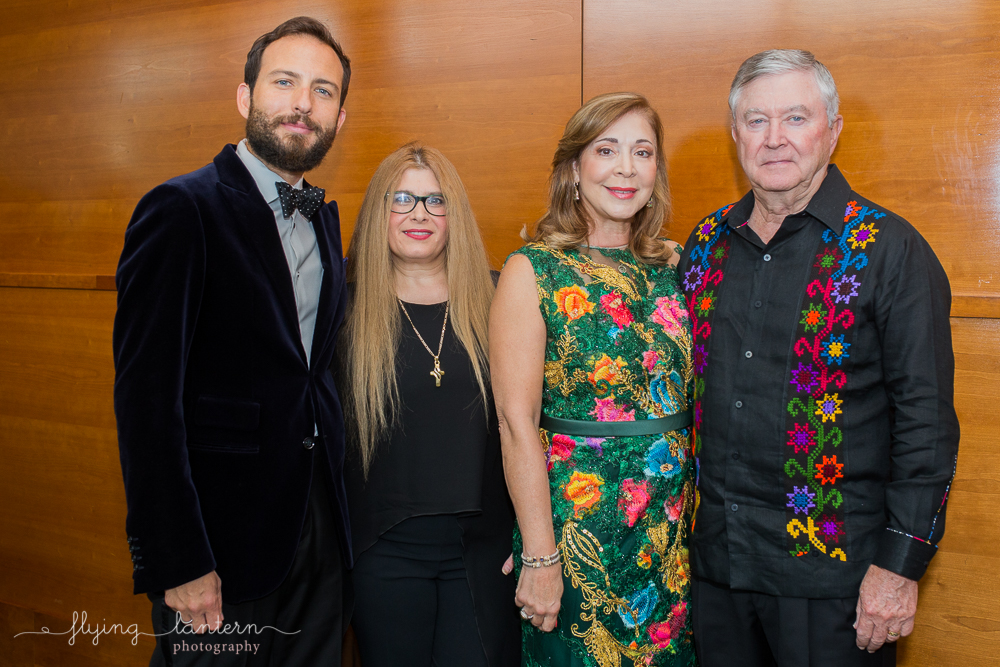 Guests at Authentic Mexico Gourmet Gala. Event photography by Erin Reas of Flying Lantern Photography