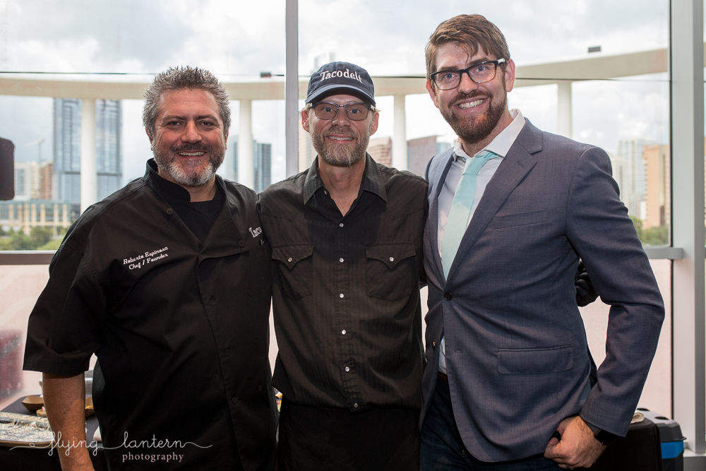 Chef Robert Espinosa of Taco Deli at the Authentic Mexico Gourmet Gala. Event photography by Erin Reas of Flying Lantern Photography.