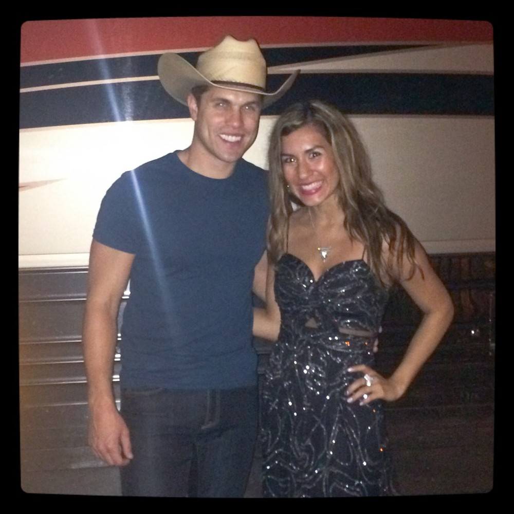 Opening for Dustin Lynch at The Pepsi Amphitheater
