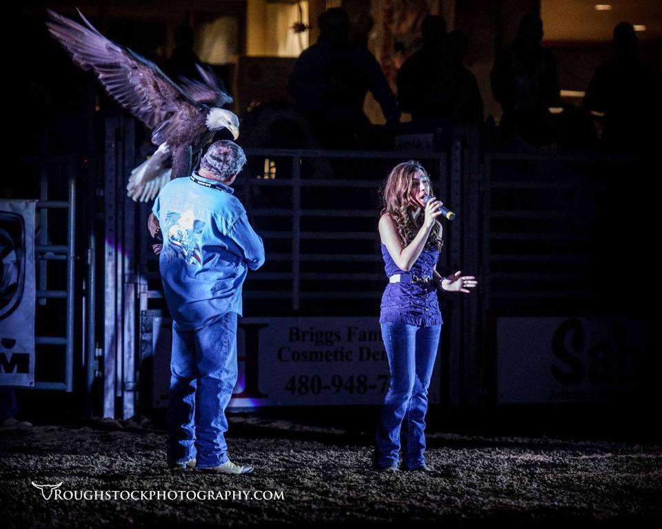 National Anthem for The Parada Del Sol Rodeo