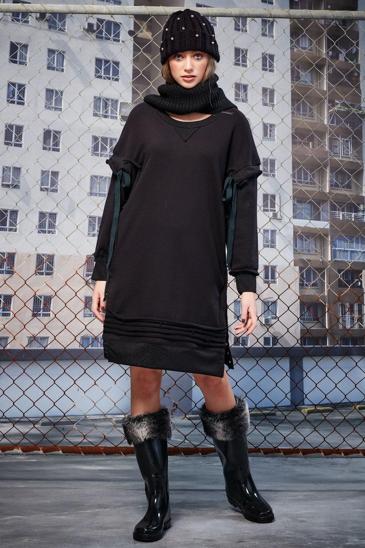 Tie Me Up Dress (Black)  - $189.90  ONLY ONE SIZE MEDIUM LEFT