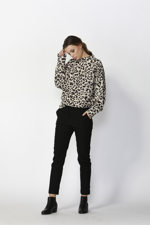 Darby Leopard Jumper (Leopard Print)  - $95