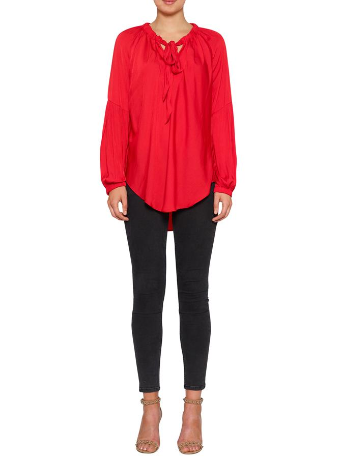 Luxe Deluxe  - Look Twice Tie Blouse  Was $399.90 > Now  $280