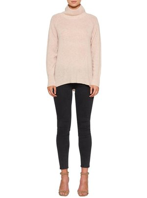 Luxe Deluxe  - Mock Neck Sweater     Was $345 > Now  $280