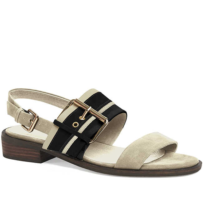 Miss Wilson  - Susie Sandal  (Stone) Was $315 > Now  $125          Sizes Available: x1  38