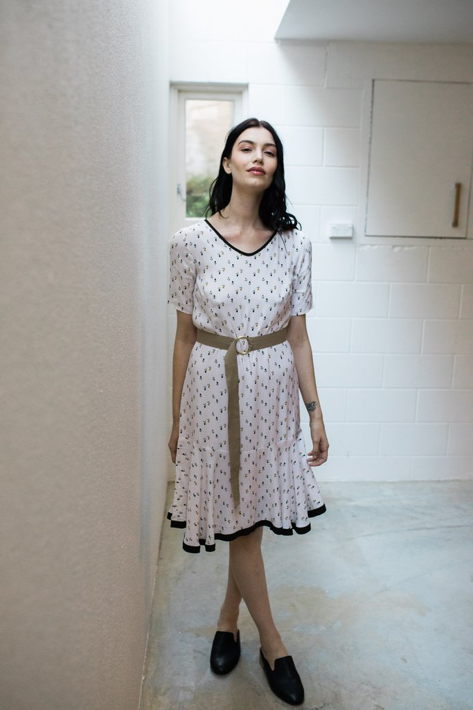 Staple + Cloth - Seychelles Dress (Ivory)