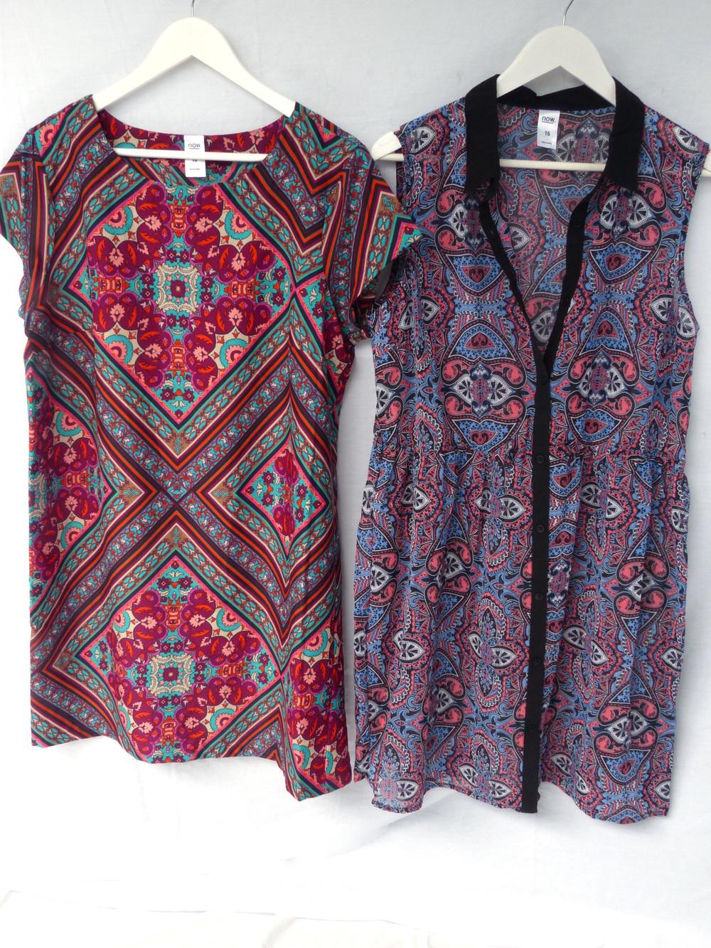 Dresses from K-Mart.