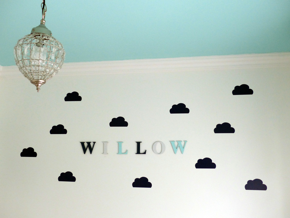 Wall decals from 'The Lovely Wall'