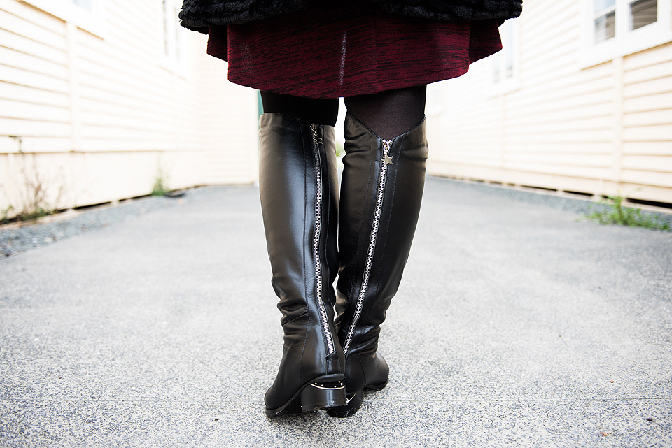 Minx Transonic Over the Knee Boot.