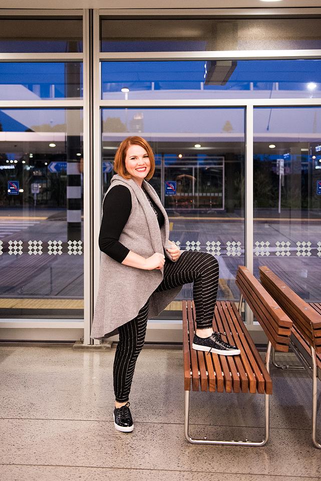 Wool Relaxed Gilet/Vest K&K