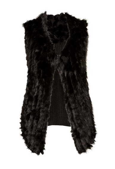 The 'Faux Fur Vest' from Max, $119.99 in size XS - XL