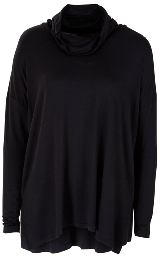 black basic top from Birdsnest