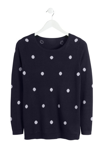 Ezibuy spotty jumper