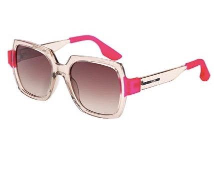 Pink Alexander McQueen Glasses