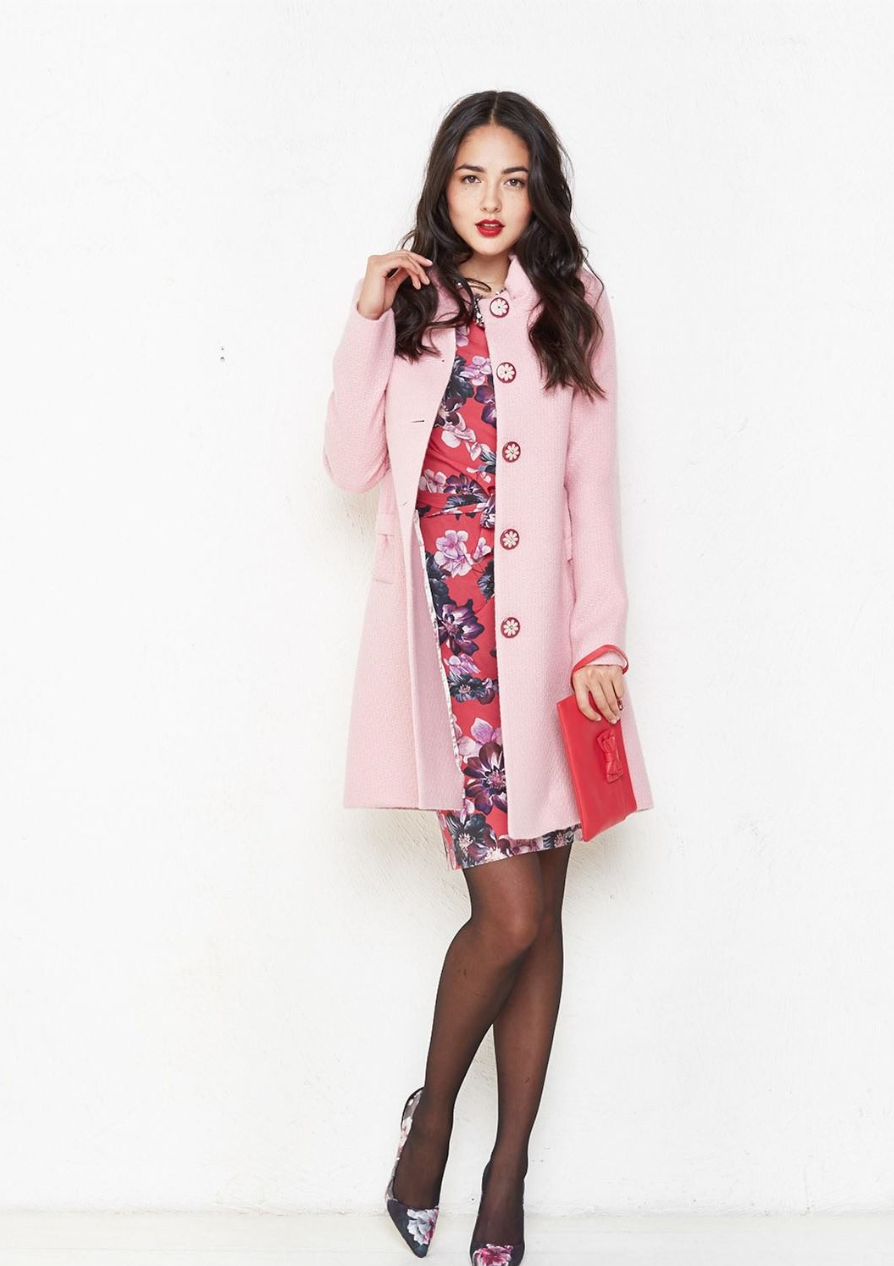 Alannah Hill Pink Coat
