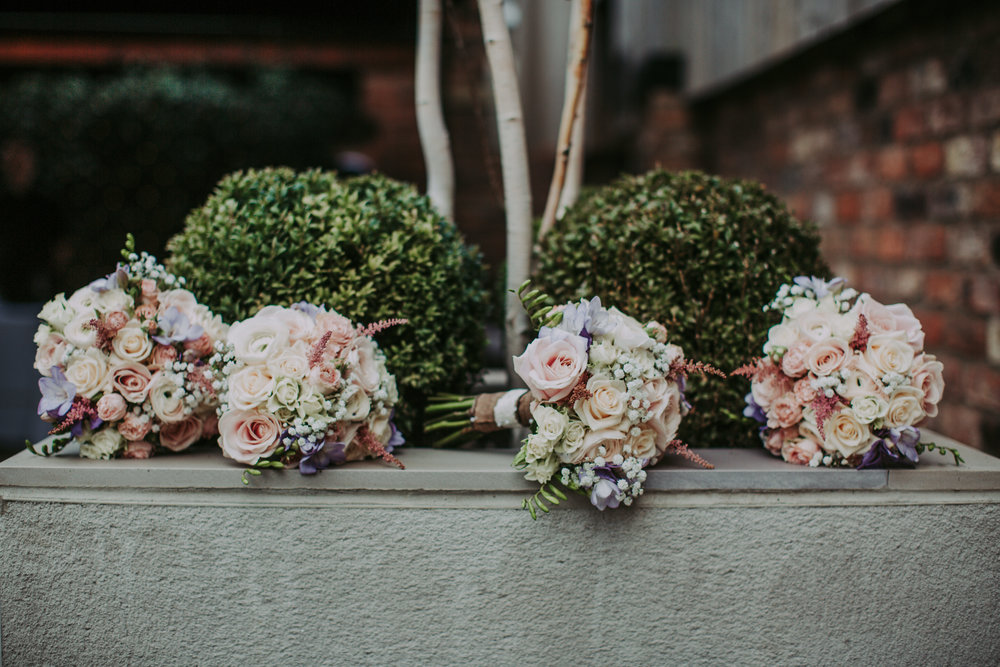 Blooming Lovely Bouquets at The Normans, photo by www.bloomweddings.co.uk