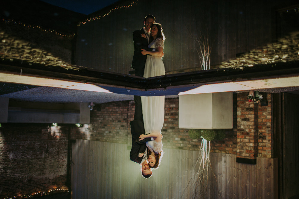 'Reflections' at The Normans. Photo by Bloom Weddings, www.bloomweddings.co.uk