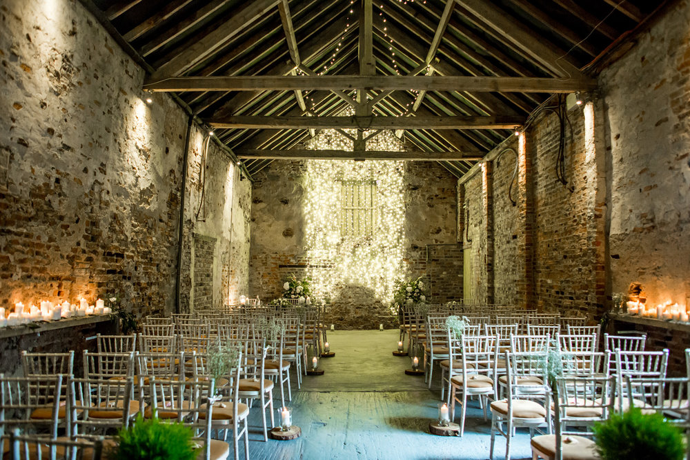 The Ceremony Barn at The Normans. Photo by www.inspirephotos.co.uk