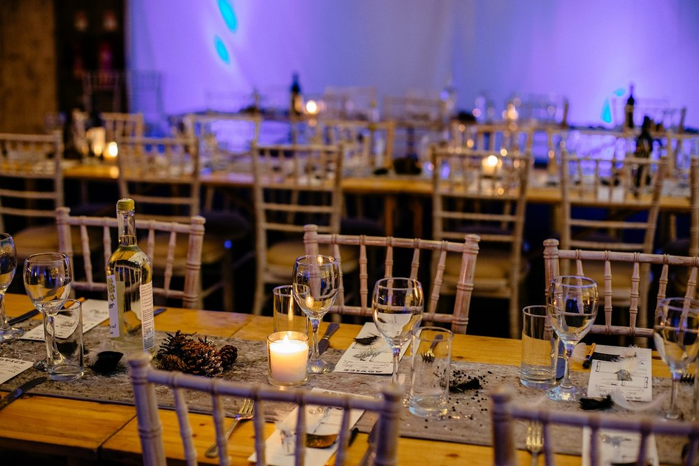 Trestle table dining at The Normans Photo by  www.sansomphotography.co.uk